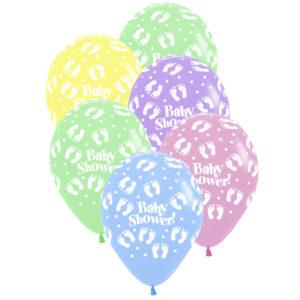 Ballong Babyshower 6 st