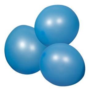 Ballong Neonblå 12 st