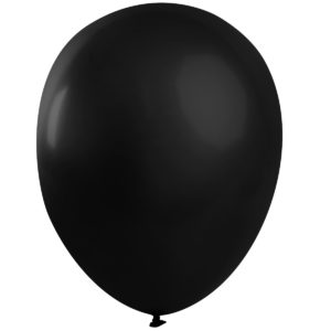 Ballong lösvikt Svart