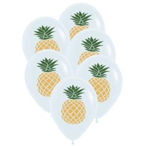 Ballonger ananas 6st