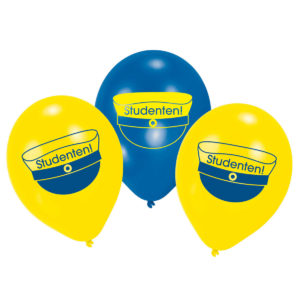 Ballonger grattis till studenten 10 st