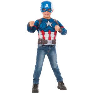 Barndräkt captain america