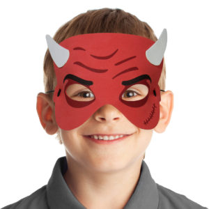 Barnmask-Djävul