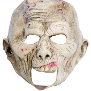 Barnmask zombie med öppen mun