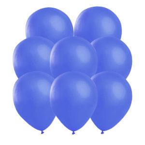 Blå ballonger 25 st