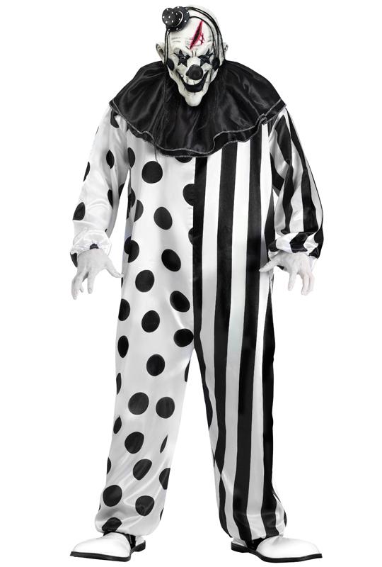 Clowndräkt skräck