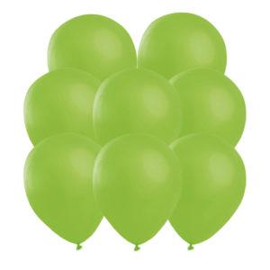 Gröna ballonger 25 st