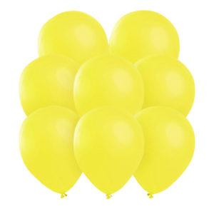Gula ballonger 25 st