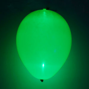 LED-ballong grön 5st