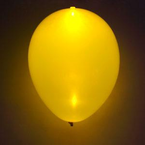 LED-ballong gul 5st