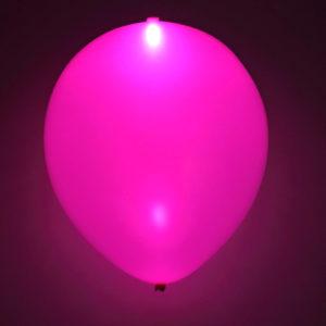 LED-ballong lila 5st