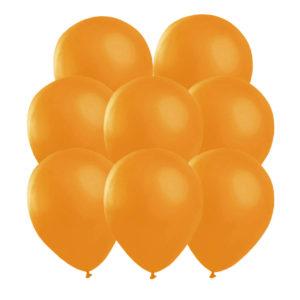 Orange ballonger 25 st