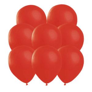 Röda ballonger 25 st