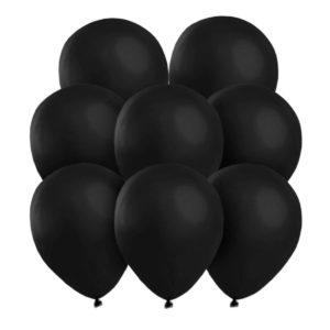 Svarta ballonger 25 st