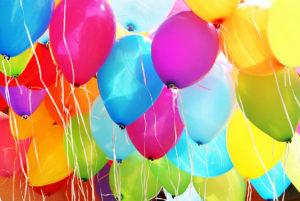 Ballonger till födelsedagskalas