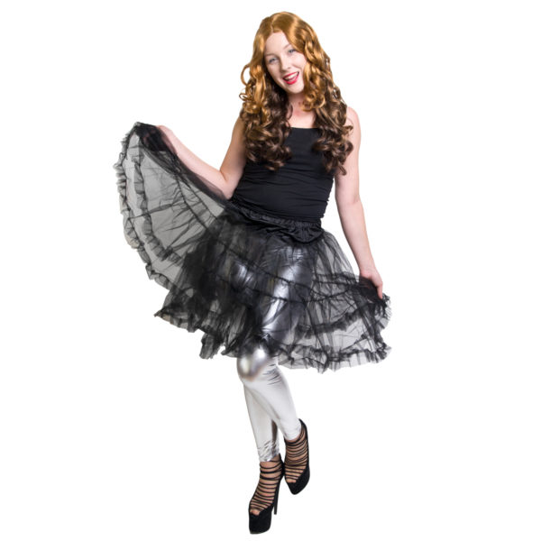 Ballerinakjol svart