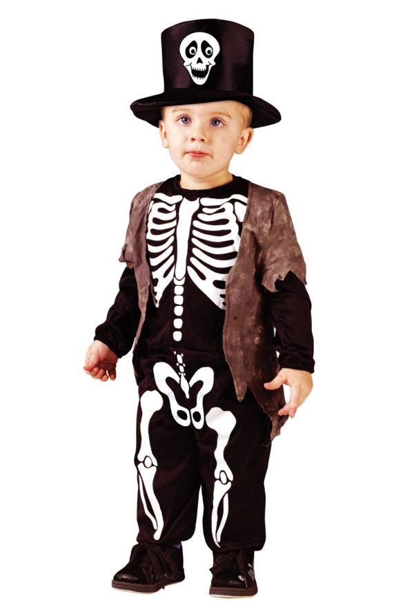 Barndräkt Happy skeleton