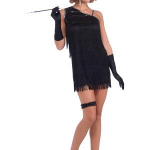 Charlestonklänning svart