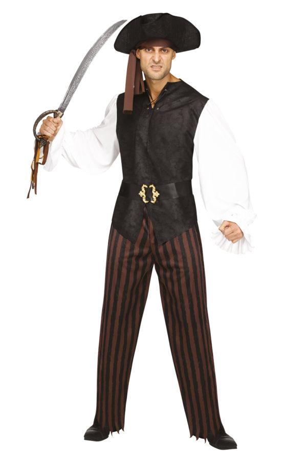 Dräkt Rustik pirat