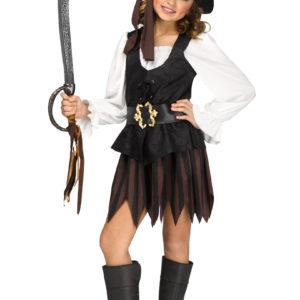 Piratklänning Rustik S
