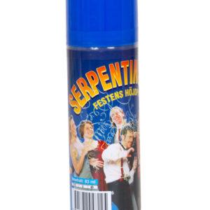 Serpentinspray blå