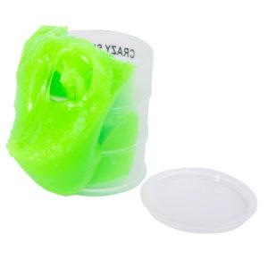 Slime Crazy i oljecylinder Grön