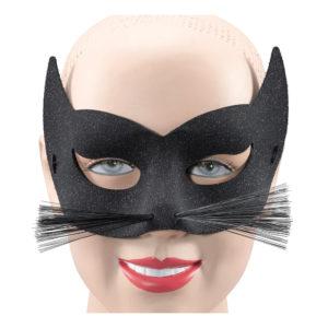 Ögonmask Katt med Morrhår - One size