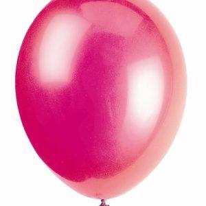 50 pack Ballonger Hot Pink/Fuchsia