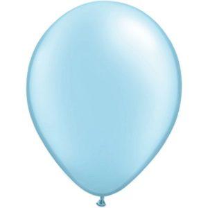 50 pack Ballonger Ljusblå Metallic