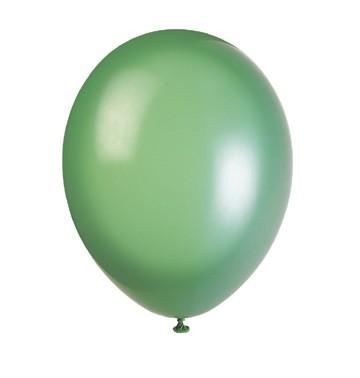 50 pack Ballonger Mörkgrön