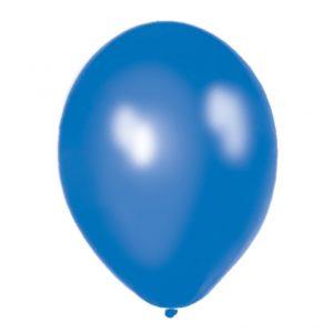 50 pack ballonger blå