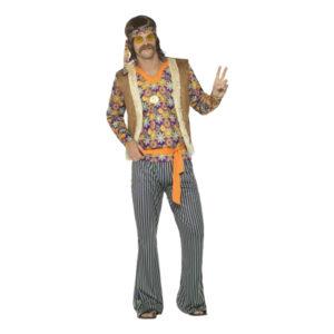 60-tals Hippiekille Maskeraddräkt - Large