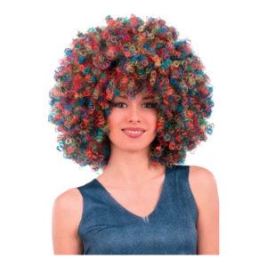 Afroperuk Deluxe Flerfärgad - One size