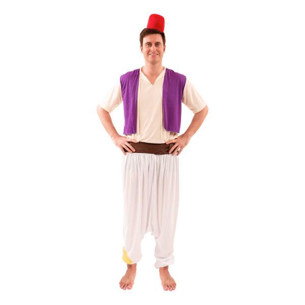 Aladdin Maskeraddräkt - X-Large