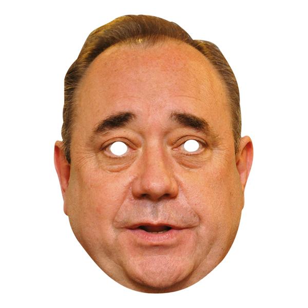 Alex Salmond Pappmask