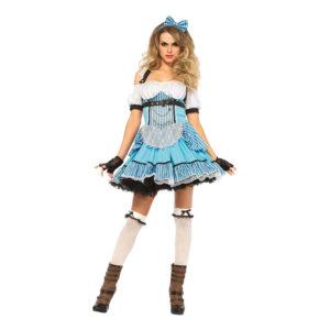 Alice Rebell Deluxe Maskeraddräkt - Large
