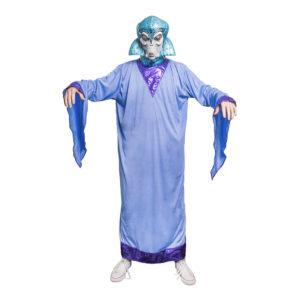 Alien Drottning Maskeraddräkt - One size