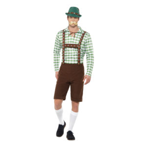 Alpin Bavarian Maskeraddräkt - Medium