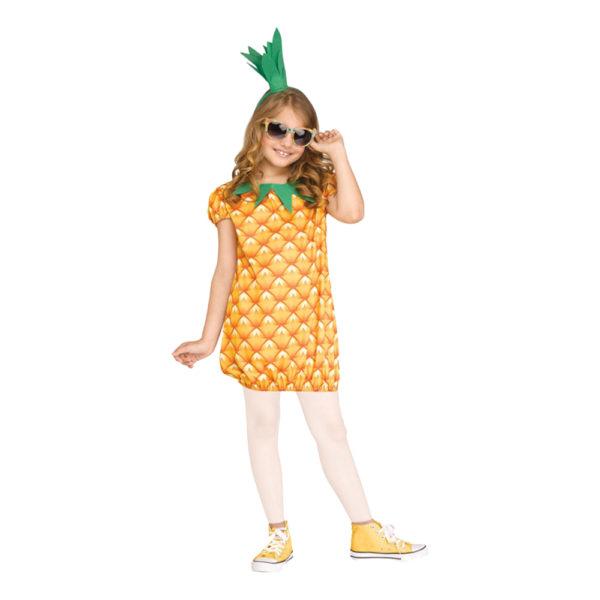Ananas Barn Maskeraddräkt - Medium