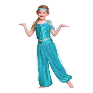Arabisk Prinsessa Barn Maskeraddräkt - Large