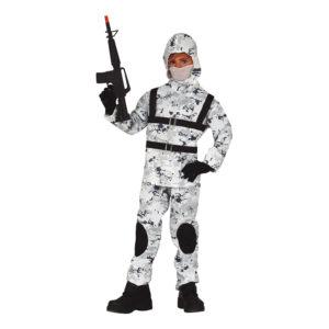 Arktisk Militär Barn Maskeraddräkt - 10-12 år Large