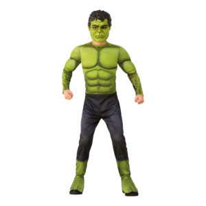 Avengers Hulken Barn Maskeraddräkt - Large