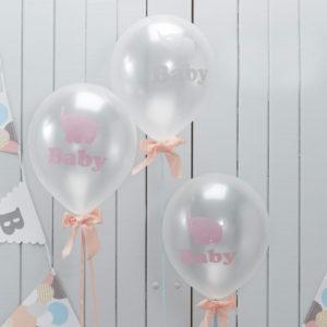 Babyshower Ballonger Little One - 10-pack