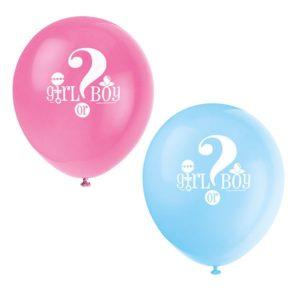 Babyshower, Gender Reveal Ballonger