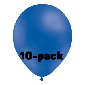 Ballonger Blåa - 10-pack