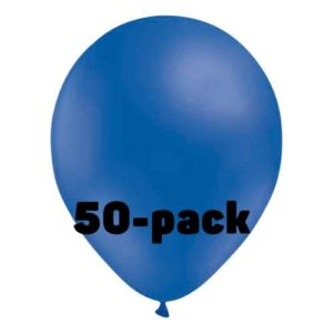 Ballonger Blåa - 50-pack