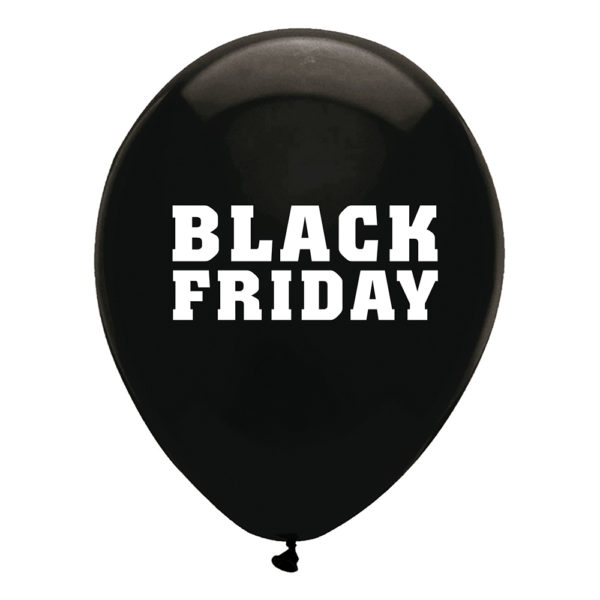 Ballonger Black Friday - 25-pack