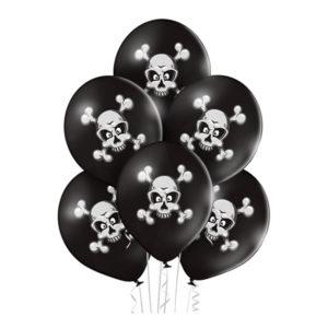 Ballonger Döskallar Premium - 6-pack