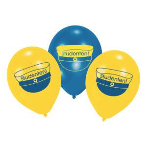 Ballonger Grattis till Studenten - 10-pack