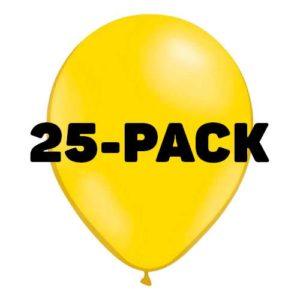 Ballonger Gula - 25-pack